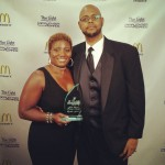 Congrats to singer Cynthia Jones one of our 2012 Lamplight Awards recipients.