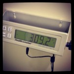 Official MediFast Friday Morning Weigh In: 309. Total weight loss: 38 pounds.