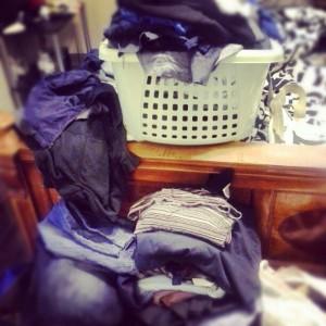 Still purging. So many clothes.
