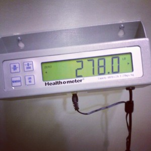 Official #MediFast Weigh-in (12/21/12) Lost 2 pounds this week. 69 pounds total loss with MediFast. Lost 27 inches. Total weight lose to date: 121. #MediFast #Weightloss