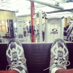 Legs...#ymca #workout #exercise