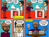 Hey Tru Comics, Soy Sauce, Chinese Food, Duck Sauce, Black Folks